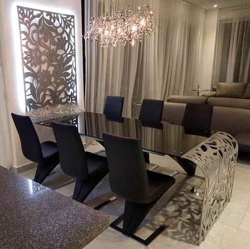 PH D Terrace zona romantica: Comedores de estilo ecléctico por DECO designers