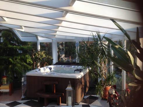 wintergarten als wellness oase von gracja homify. Black Bedroom Furniture Sets. Home Design Ideas