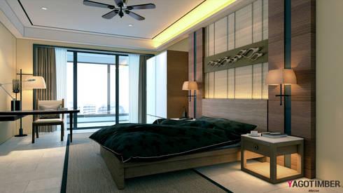 Get Best Bedroom Designs Ideas In Noida - Yagotimber.: mediterranean Bedroom by Yagotimber.com