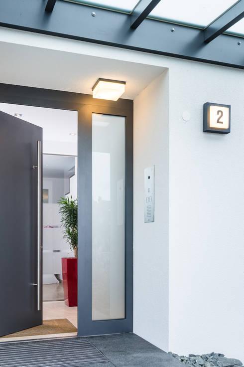 Türkommunikation:: moderne Häuser von casaio | smart buildings