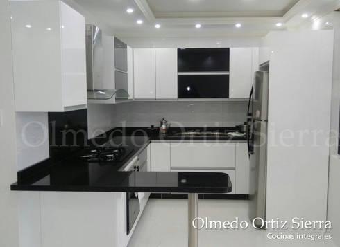 Cocina integral para espacios reducidos by cocinas - Cocinas en espacios pequenos ...