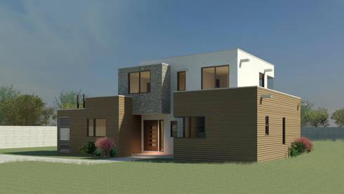 Casa fredes:  de estilo  por AtelierStudio