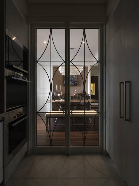klassische Küche von 大荷室內裝修設計工程有限公司