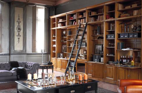 COMPOSITIONS : Estudios y oficinas de estilo moderno por Conexo.