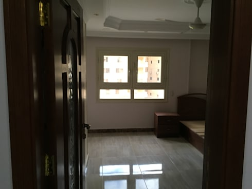 تشطيب شقة :  غرفة نوم تنفيذ الرواد العرب