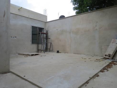 VIVIENDA <q>N&R</q>: Terrazas de estilo  por TALLER 9, ARQUITECTURA