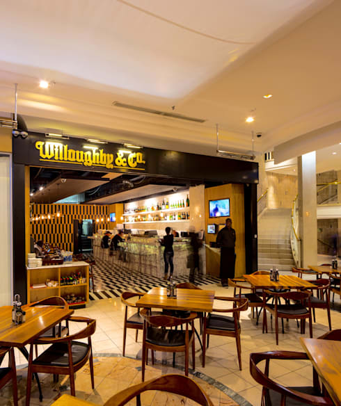 Willoughby's & Co - Restaurant Entrance:  Bars & clubs by Premiere Design Studio