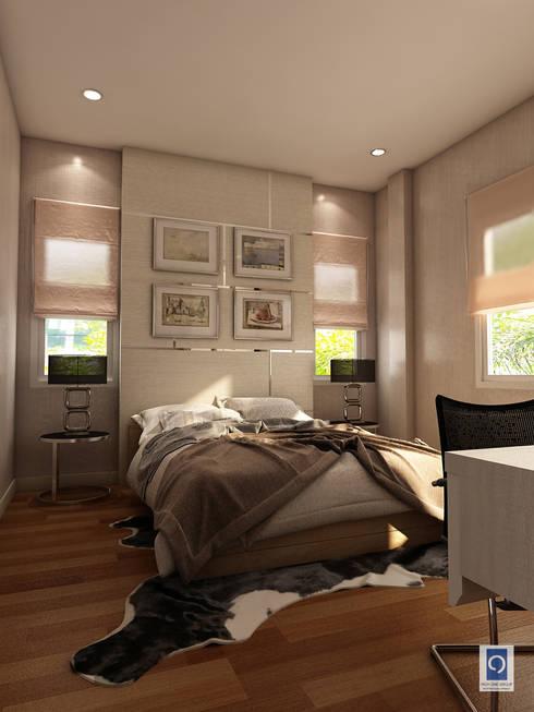10 งานออกแบบบิวอินตู้เสื้อผ้าในห้องนอน สไตล์โมเดิร์น คลาสสิค:   by ริชวัน กรุ๊ป