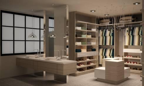 CASA DEL TREBOL: Baños de estilo moderno por santiago dussan architecture & Interior design