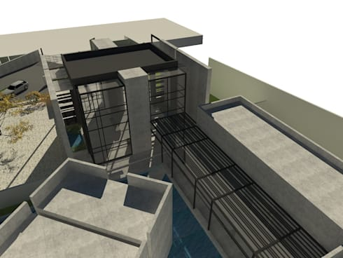 Inner Space at Gachibowli, Hyderabad—Information Center: minimalistic Houses by 29 studio