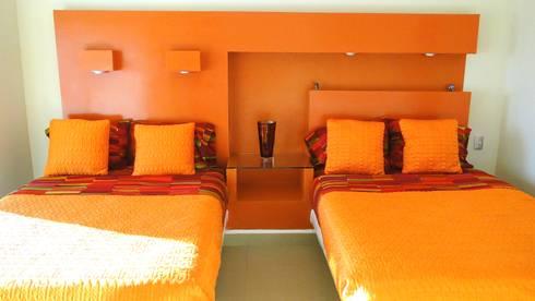 Habitación 1:  de estilo  por Pereg&Teran Arquitectos