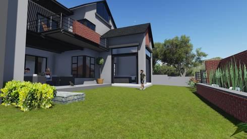 Copperleaf estate living :   by Ellipsis Architecture