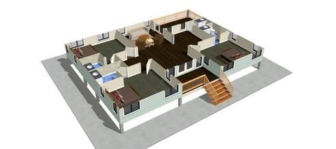 แบบบ้านเดี่ยว:   by th-design