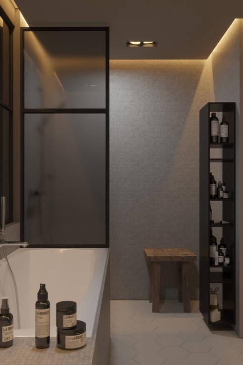 Projekty,  Łazienka zaprojektowane przez IGOR SIROTOV ARCHITECTS