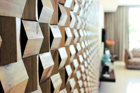 Apartment Robertson—Pembroke:  Walls & flooring by Covet Design