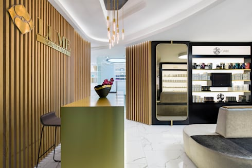 Lume Beauty Atelier:  Commercial Spaces by ARRCC