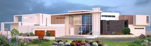 House Ali: modern Houses by STENA ARCHITECTS
