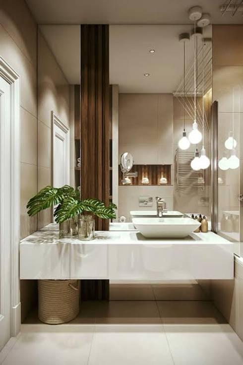 Bathroom by Дарья Баранович Дизайн Интерьера