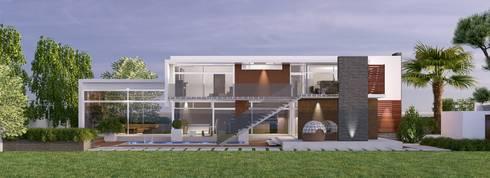 HOUSE KELVIN: modern Houses by STENA ARCHITECTS