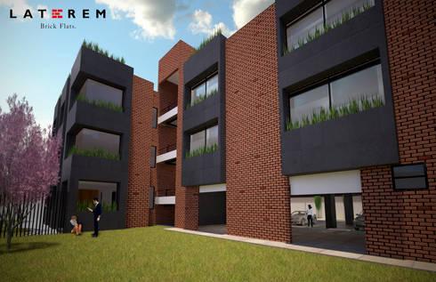 Jardin Común : Jardines de estilo moderno por Del Castillo Arquitectos