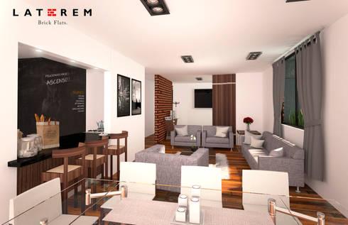 Interior: Comedores de estilo moderno por Del Castillo Arquitectos
