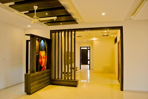 GSP Interiors : modern Dining room by Space Collage