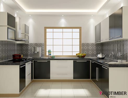 have a look of modular kitchen design ideas in delhi ncr
