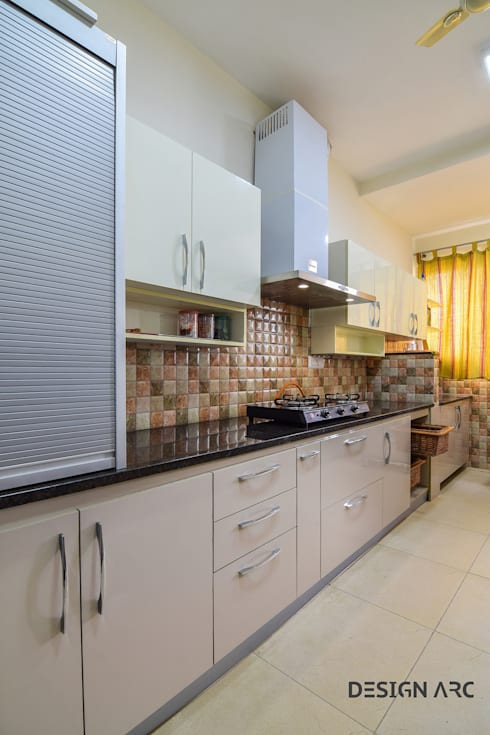 Best modular Kitchen bangalore:  Kitchen by Design Arc Interiors