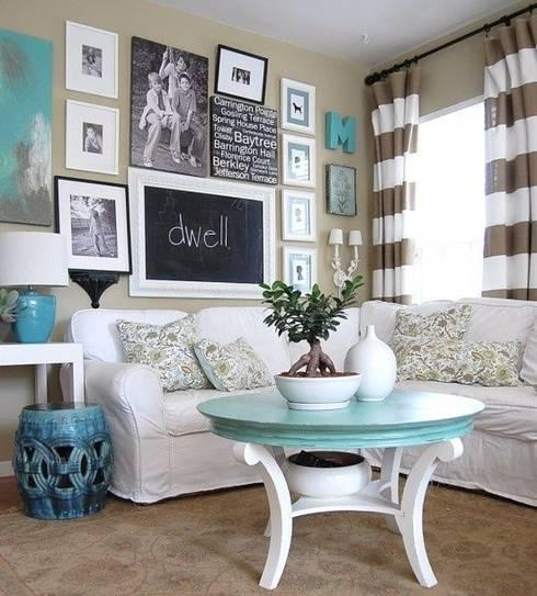 modern Living room تنفيذ Evinin Ustası
