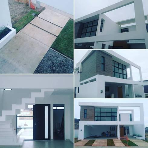 PT201L6: Casas de estilo minimalista por hole