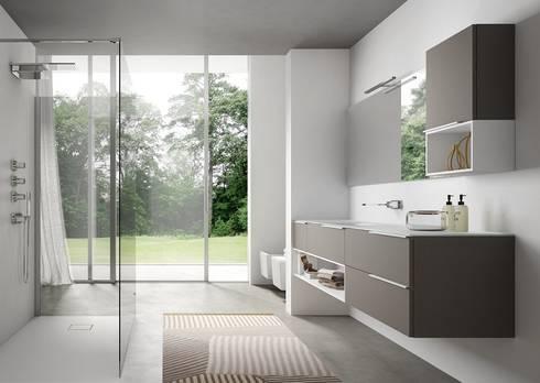 Arredo bagno moderno di Arredo Bagno Milano | homify