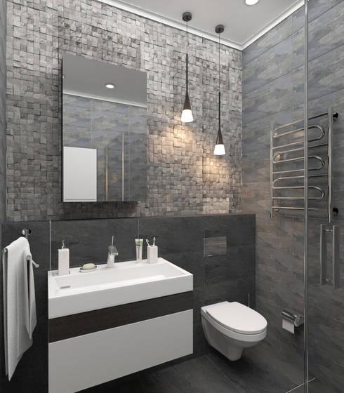 حمام تنفيذ Первое Дизайн-Бюро