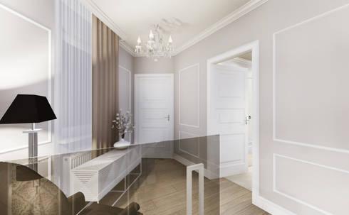 apartment:  Corridor & hallway by KOKON zespół architektoniczny