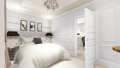 apartment: eclectic Bedroom by KOKON zespół architektoniczny