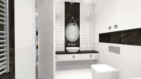 apartment: eclectic Bathroom by KOKON zespół architektoniczny