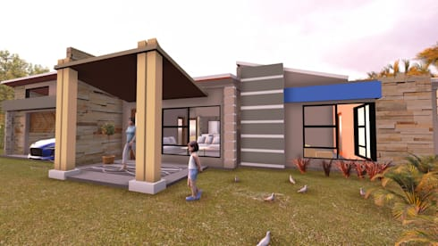Houses:   by iRON B HOME DESIGN