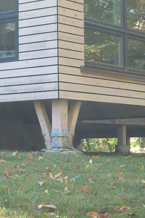 exterior detail: modern Houses by JMKA architects