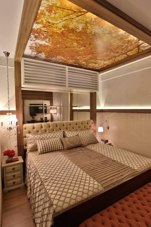 غرفة نوم تنفيذ MAJÓ Arquitetura de Interiores