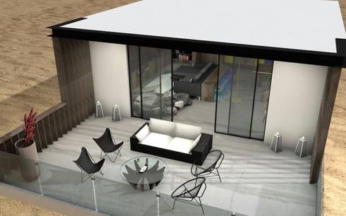 Patios & Decks by TAMEN arquitectura
