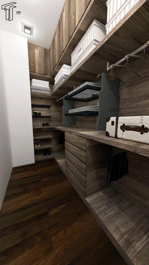 غرفة الملابس تنفيذ TAMEN arquitectura