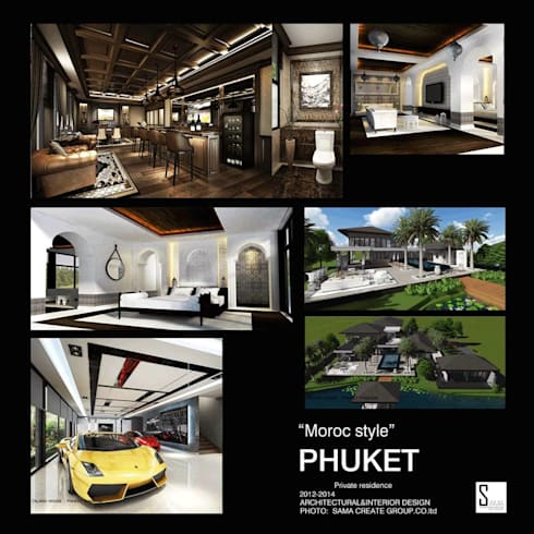 PROJECT: DAVID HOUSE @ PHUKET THAILAND:   by SAMA create group