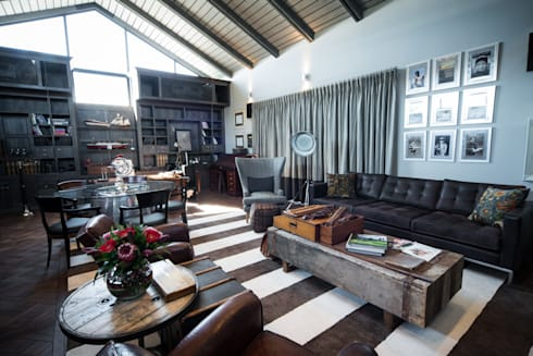 upmarket home in johannesburg por kim h interior design homify. Black Bedroom Furniture Sets. Home Design Ideas