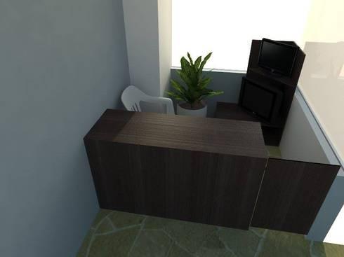Estructuras: Oficinas y Tiendas de estilo  por plexo estructuras
