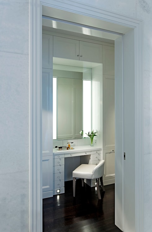 Vanity:  Bathroom by Douglas Design Studio