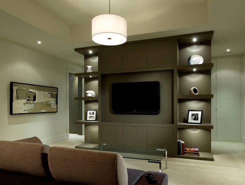 Media Room: modern Media room by Douglas Design Studio