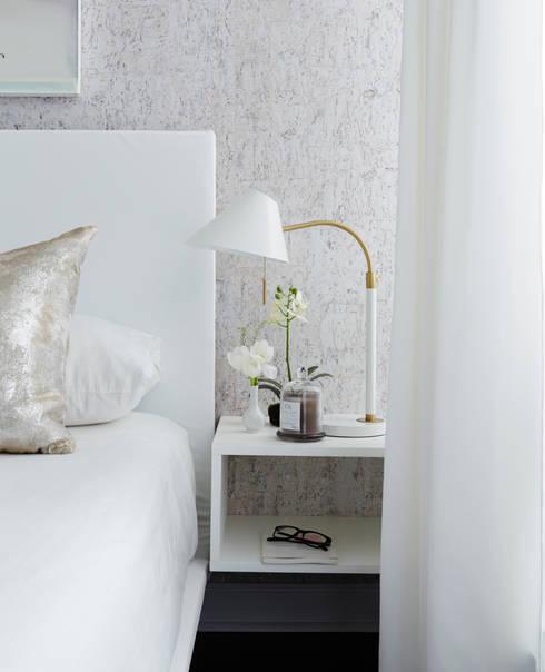 Bedroom Detail: modern Bedroom by Douglas Design Studio
