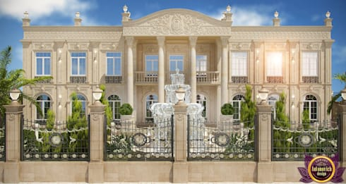 Architectural design of Katrina Antonovich: classic Houses by Luxury Antonovich Design
