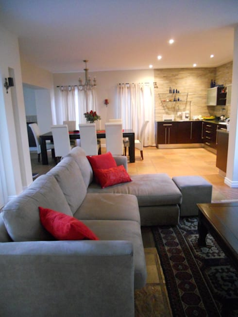 French House: mediterranean Kitchen by SOJE Interior, Design and Decor PTY (Ltd)