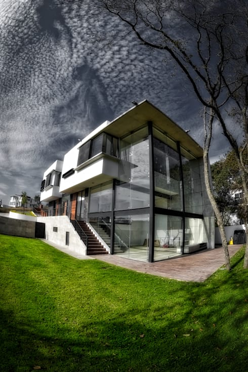 Casa rs de arqcubo homify for Casa rambler vs casa ranch