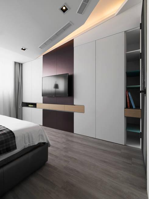 Bedroom by 樸暘室內裝修有限公司